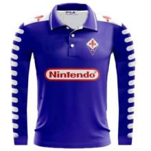 1998-1999 Fiorentina Home Retro Soccer Jersey