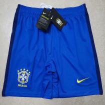 2020 Brazil Blue Shorts Pants