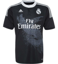 2014-2015 RM Black Dragon Retro Soccer Jersey