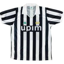 1991-1992 JUV Home Retro Soccer Jersey
