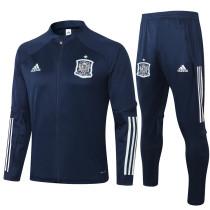 2020/21 Spain Royal Blue Jacket Tracksuit