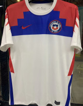 2020/21 Chile White 1:1 Quality Fans Soccer Jersey