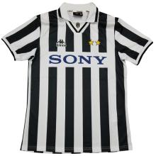 1996-1997 JUV Home Retro Soccer Jersey