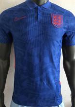 2020 Euro Englang Blue Player Version Soccer Jersey