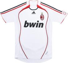 2006-2007 AC Milan Away White Retro Soccer Jersey