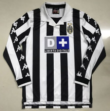 1999-2000 JUV Home Retro Long Sleeve Soccer Jersey