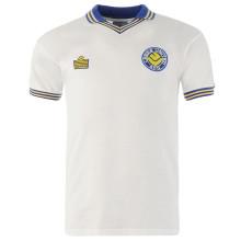 1978 Leeds United Home White Retro Soccer Jersey