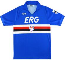 1990/91 Sampdoria Home Retro Soccer Jersey