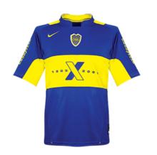 2005 Boca Centenary Home Retro Soccer Jersey
