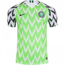 2018 Nigeria Home Green Fans Soccer Jersey