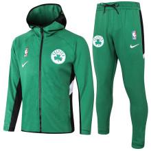 2020/21 Celtics Green Hoody Zipper Jacket Tracksuit(凯尔特人)
