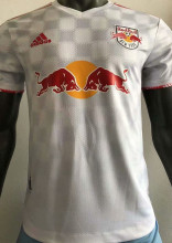 2021 NY RB White Player Version Soccer Jersey
