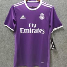 2016-2017 RM Purple Away Retro Soccer Jersey