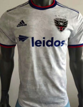 2021 DC United White Player Version Soccer Jersey