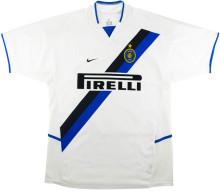 2002-2003 In Milan Away White Retro Soccer Jersey