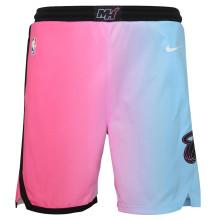 2021 Miami Heat City Edition Pink Blue NBA Pants