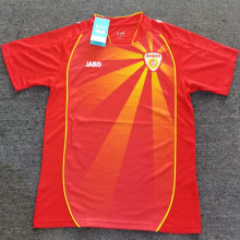 2021/22 North Macedonia Home Red Fans Soccer Jersey