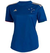 2021/22 Cruzeiro 100 ANOS Blue Women Soccer Jersey