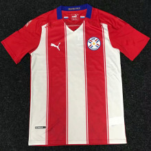 2020/21 Paraguay Home Fans Soccer Jersey