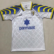1995/97 Parma Away White Retro Soccer Jersey