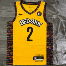 Nets GRIFFIN #2 Yellow NBA Jerseys Hot Pressed