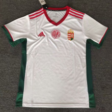 2021/22 Hungary Away White Fans Soccer Jersey