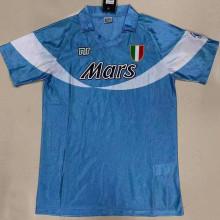 1990/91 Napoli Special Blue Retro Soccer Jersey