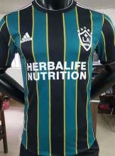 2021 LA Galaxy Green Black Player Version Soccer Jersey