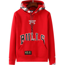 2021 Bulls Aape NBA Red Hoody