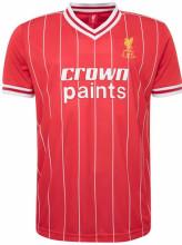 1981-1982 LIV Red Retro Soccer Jersey