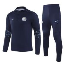 2020/21 M City Royal Blue Sweater Tracksuit