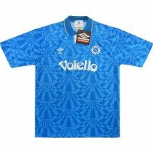 1991-93 Napoli Retro Home Soccer Jersey