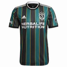 2021 LA Galaxy Green Black Fans Soccer Jersey
