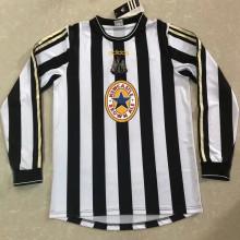 1997/99 Newcastle Home Long Sleeve Retro Soccer Jersey