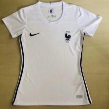 2020/21 France Away White Women Soccer Jersey