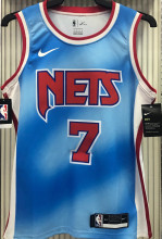 Nets DURANT #7 Limited Edition Blue NBA Jerseys Hot Pressed