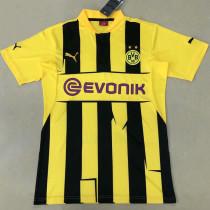 2012/13 BVB Retro Home Soccer Jersey
