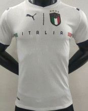 2021/22 Italy Away White Player Version Soccer Jersey