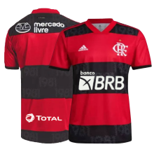 2021/22 Flamengo 1:1 Quality Home Fans Soccer Jersey (New AD新广告)