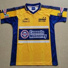 1999 Tigres Yellow Retro Soccer Jersey