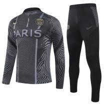 2020/21 PSG Black Sweater Tracksuit