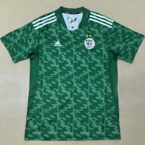 2021 Algeria Away Green Fans Soccer Jersey