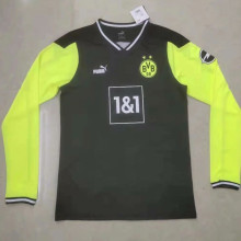 2021 BVB Commemorative Edition Black Long Sleeve Soccer Jersey