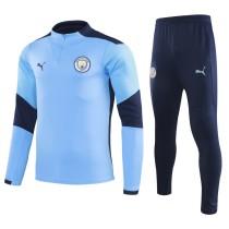 2020/21 M City Blue Sweater Tracksuit