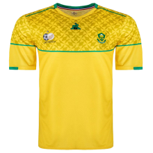 2020/21 South Africa Home Yellow Fans Soccer Jersey