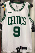 Celtics RONDO #9 White NBA Jerseys Hot Pressed