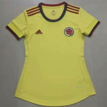 2021 Colombia Home Yellow Women Soccer Jersey