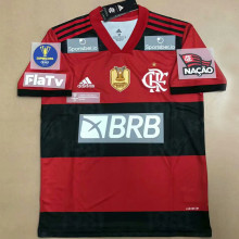 2021/22 Flamengo 1:1 Quality Home Fans Soccer Jersey (All AD 全广告)