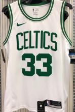 Celtics BIRD #33 White NBA Jerseys Hot Pressed