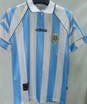 1994 Argentina Home Retro Soccer Jersey